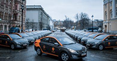 Автомобили оператора каршеринга